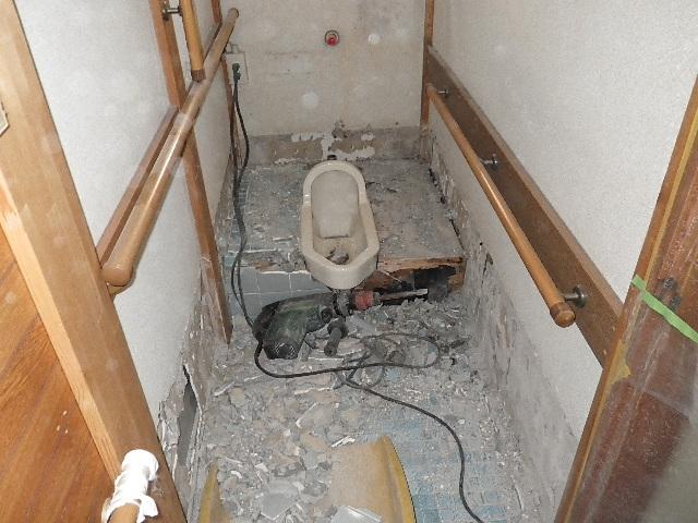 和式トイレを洋式へリフォーム