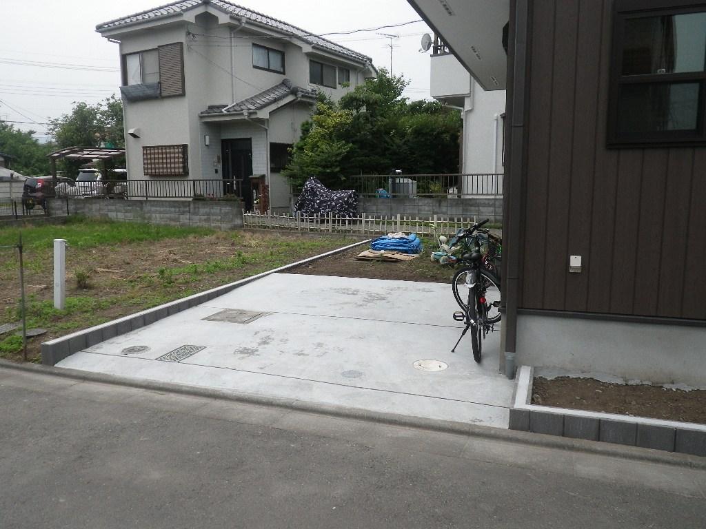 新築外溝工事(あきる野市 伊奈)