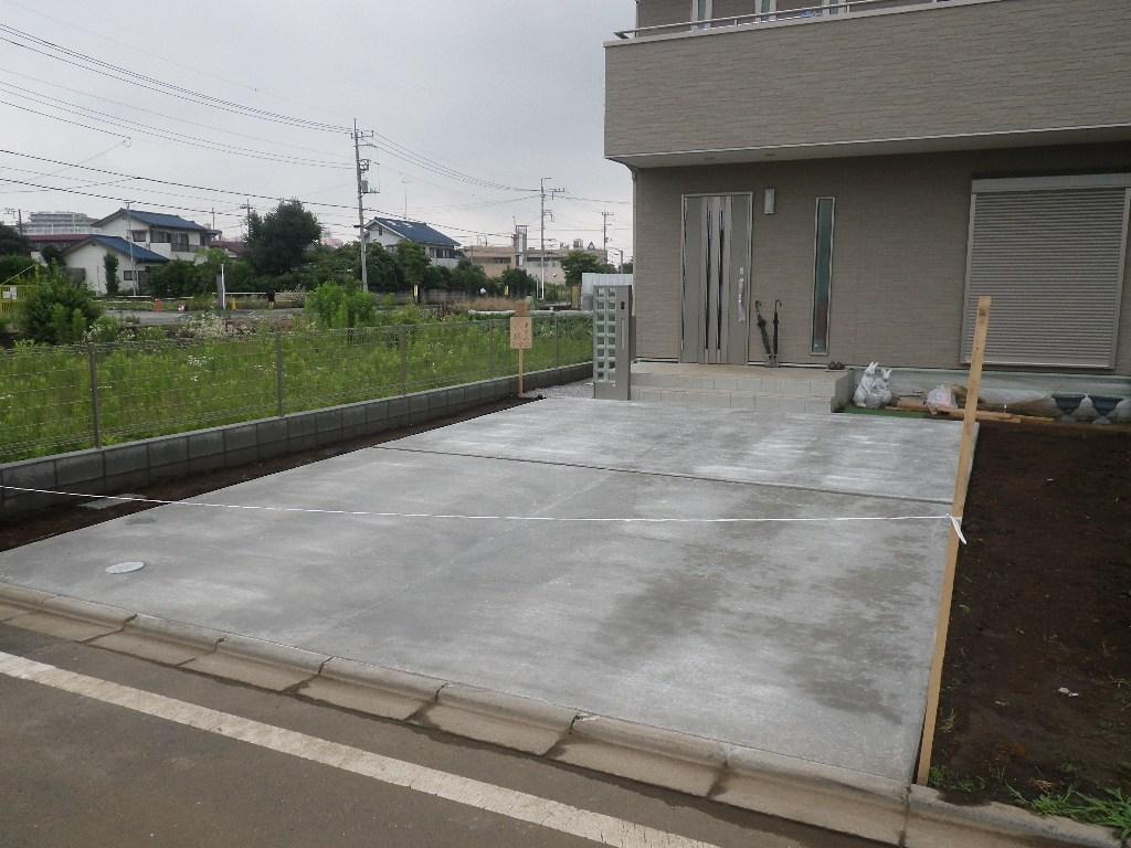新築外溝工事(日野市西平山)