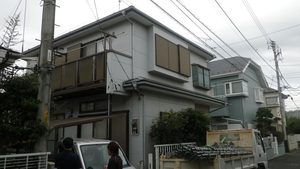 八王子屋根吹き替えと塗装工事