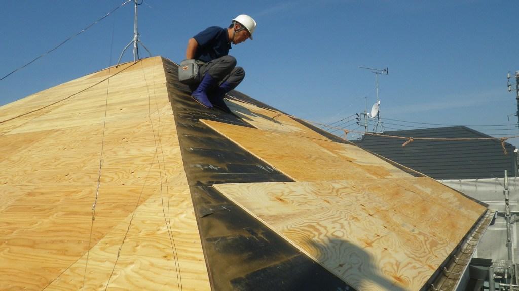 昭島市で屋根の葺き替え・張替えリフォーム工事の紹介