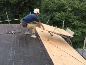 屋根工事例と価格