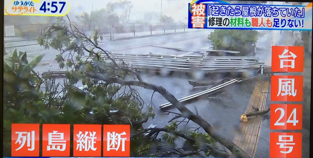 日本列島に甚大な被害をもたらした台風と屋根の被害
