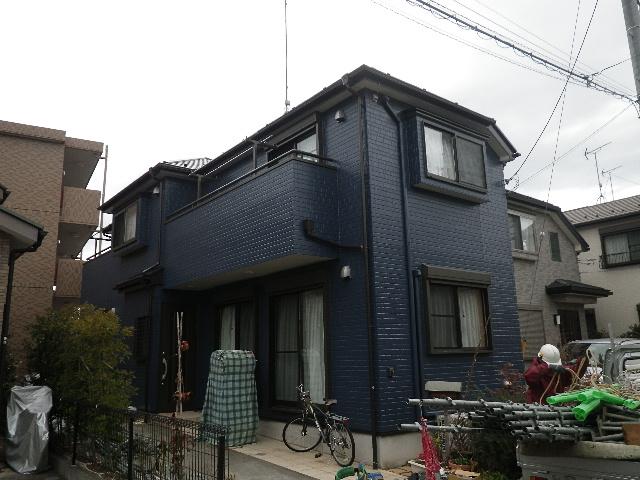東京都 八王子市 舘町 外壁塗装事例