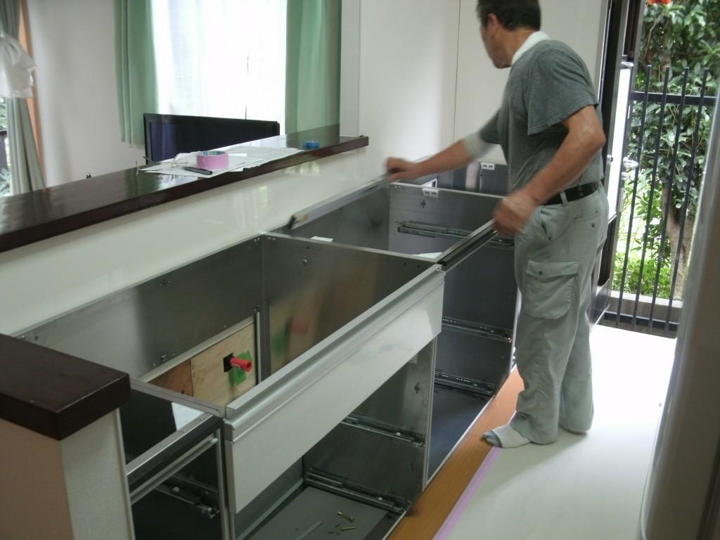 キッチン交換リフォーム