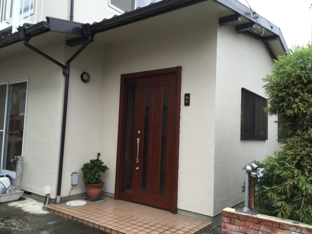 八王子中古リフォーム 工事前の自宅の写真