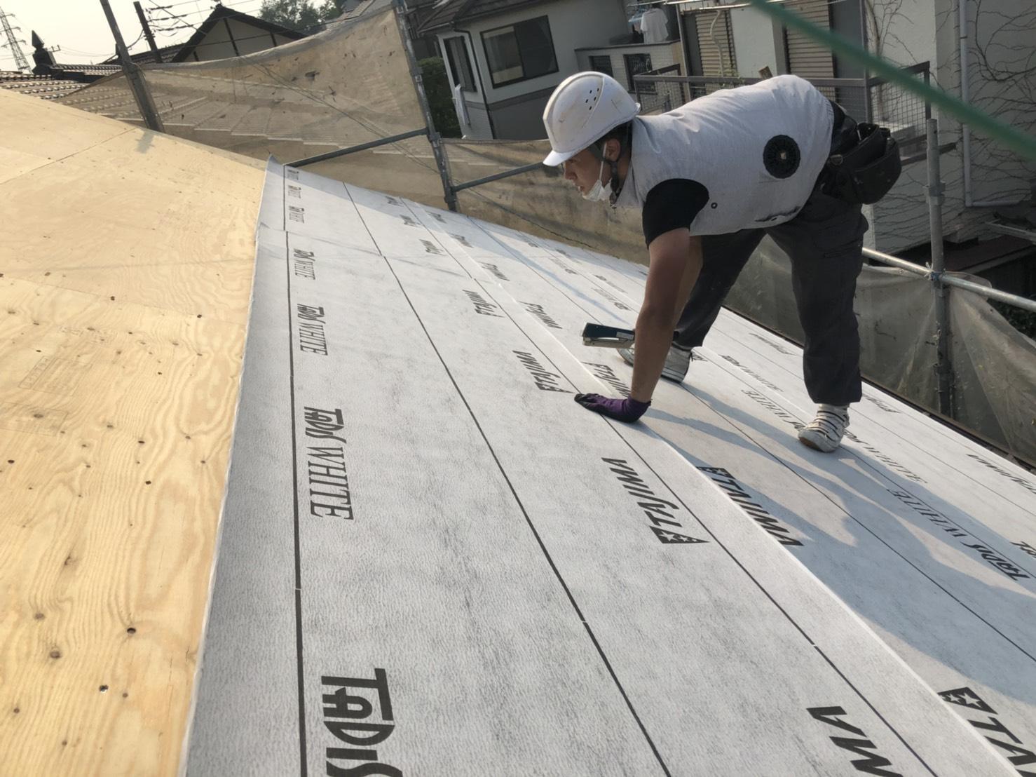八王子外壁塗装+屋根張替工事